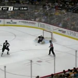 Marc-Andre Fleury Save on Logan Couture (04:11/2nd)