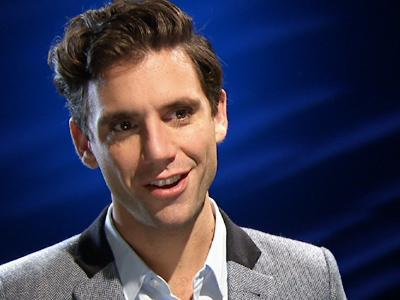 Mika sings the praises of pop music