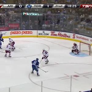 Mike Smith Save on James van Riemsdyk (01:36/2nd)
