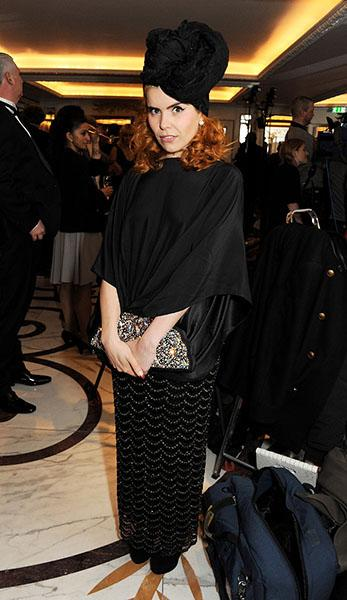 At the Amy Winehouse Foundation Ball in London, November 2012
