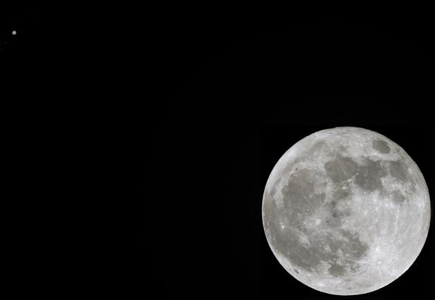 10 Brilliant Photos of the Moon and Jupiter