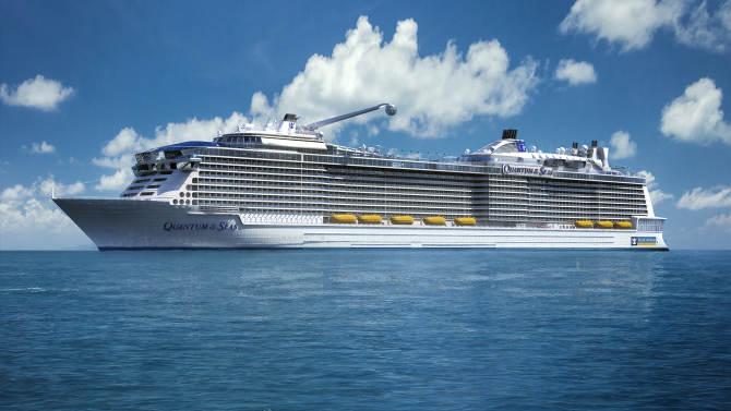 Royal Caribbean's ship Quantum of the Seas