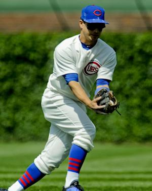 Dodgers acquire 2B Barney in trade with Cubs