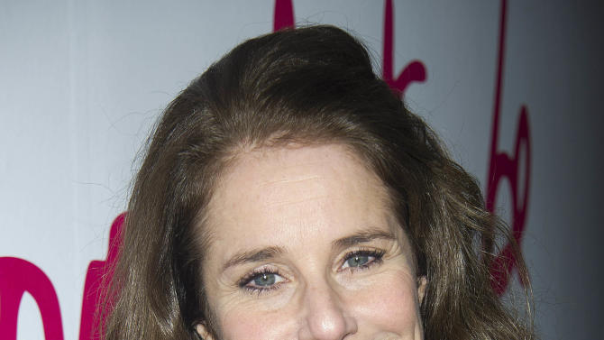 """FILE - This March 9, 2012 file photo shows actress Debra Winger at The Third Annual DVF Awards held at the United Nations. Winger will make her broadway debut in """"The Anarchist,"""" a play by David Mamet. Winger will star alongside Patti Lupone in the two-character play opening on Dec. 2.  (AP Photo/Charles Sykes, file)"""