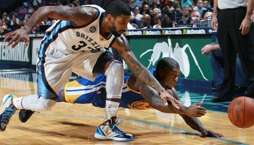 Grizzlies top Warriors 98-94 for 3rd straight win