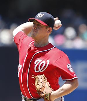 Zimmermann 2-hits Padres in 6-0 Nationals win