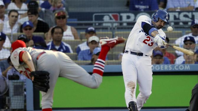 Greinke, Dodgers beat Cardinals 6-4 to extend NLCS