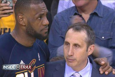 Listen to David Blatt thank LeBron James for everything