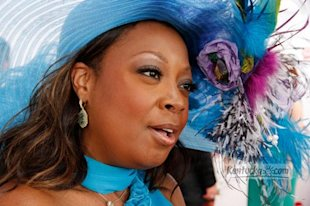 star jones at the kentucky derby 2012