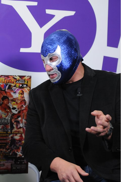 Blue Demon y Fuerza Guerrera