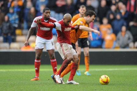 Soccer - Sky Bet League One - Wolverhampton Wanderers v Bristol City - Molineux Stadium