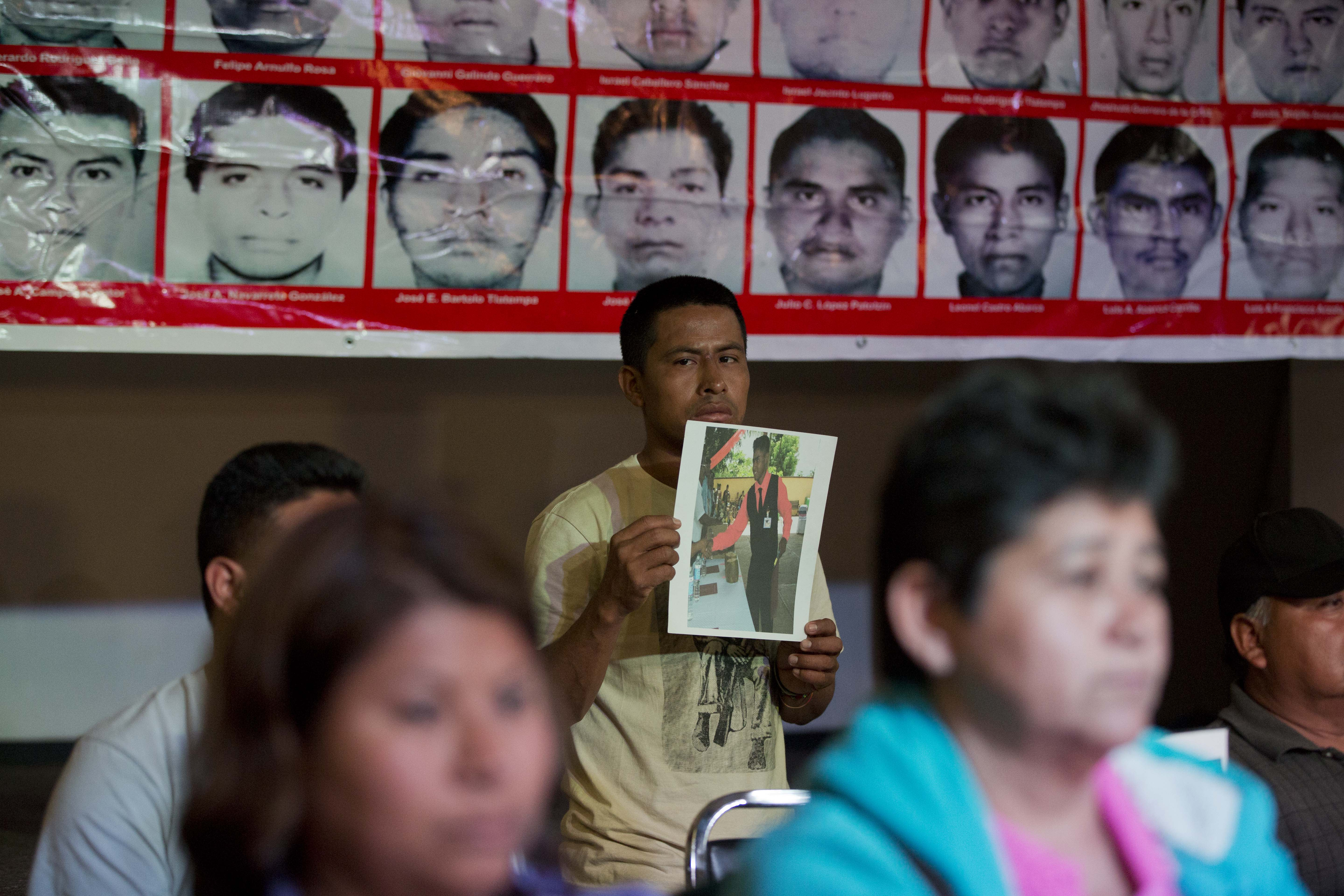 Rights groups also doubt Mexico account on missing students