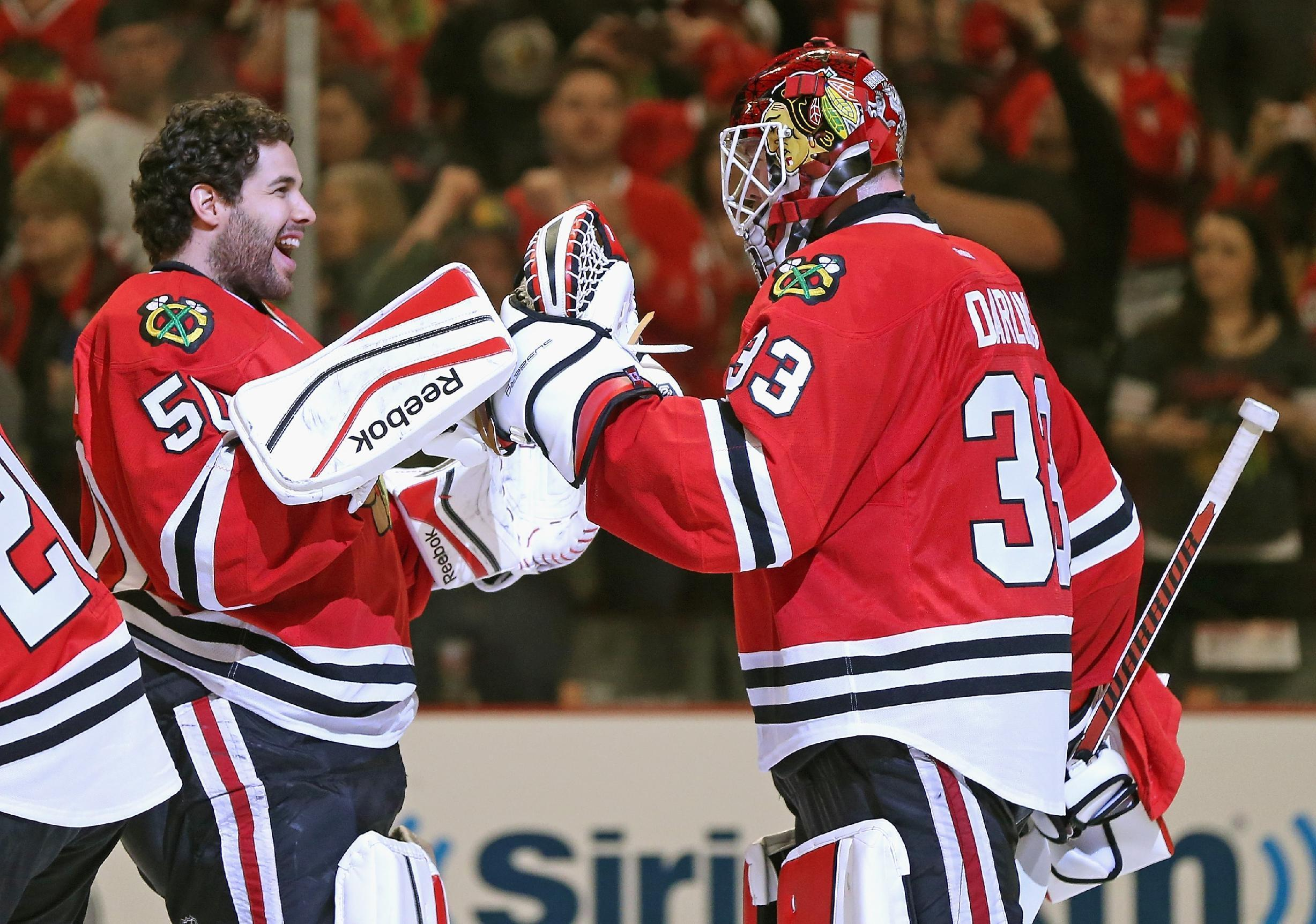 How bad are Corey Crawford's playoff problems? (Trending Topics)