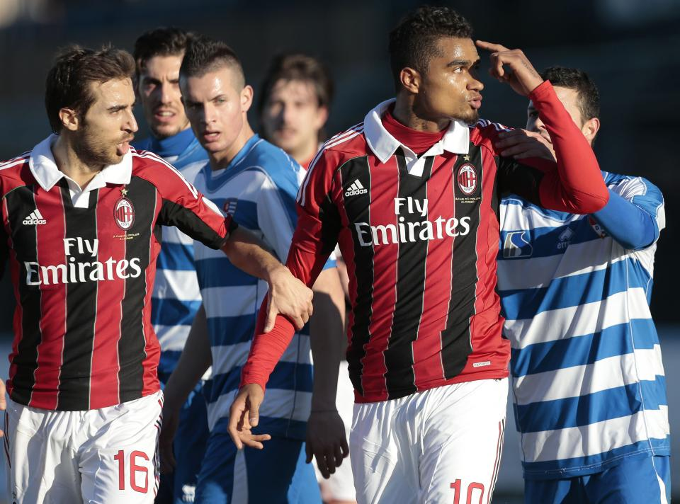 AC Milan exhibition ends after racist chants