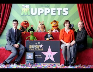 Muppets walk of fame 2