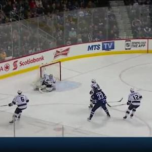 Jonathan Quick Save on Andrew Ladd (06:25/1st)