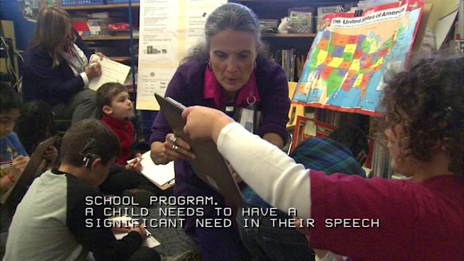 Child's Voice instructs young children with hearing loss