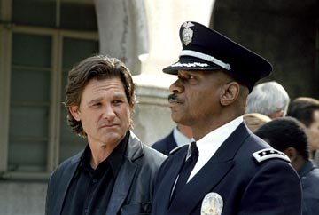 Kurt Russell and Ving Rhames in United Artists' Dark Blue