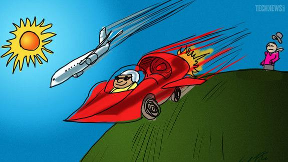 What a 1,000 mph Car Could Do for Your Commute