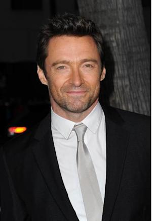 Hugh Jackman arrives at the premiere of 'Prisoners,' at the Academy of Motion Picture Arts and Sciences in Beverly Hills, Calif. -- Getty Images