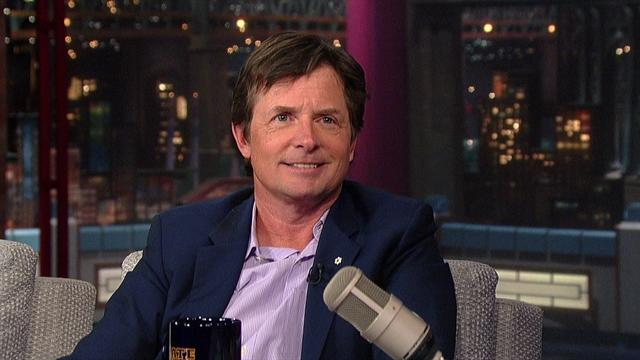 David Letterman - Michael J. Fox Returns to TV