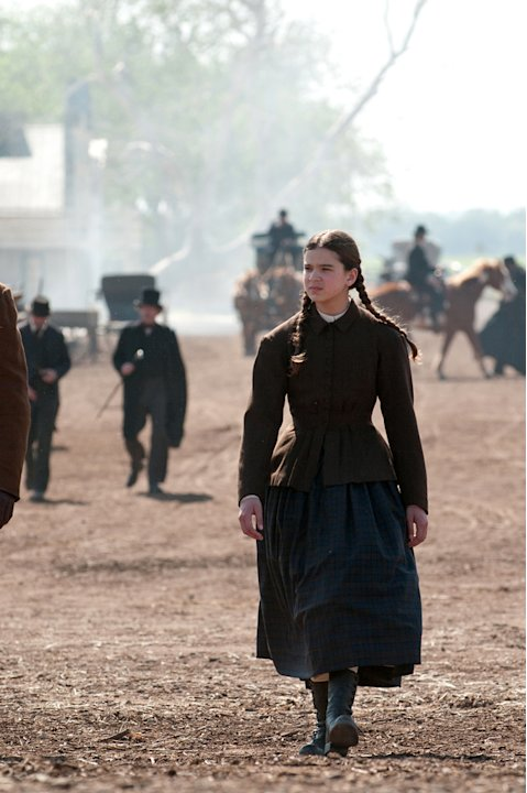 Hailee Steinfeld True Grit Production Stills Paramount 2010