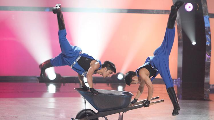"Marko Germar and Tadd Gadduang perform a Hip-Hop routine to ""B.O.B,"" choreographed by Chuck Maldonado on ""So You Think You Can Dance."""