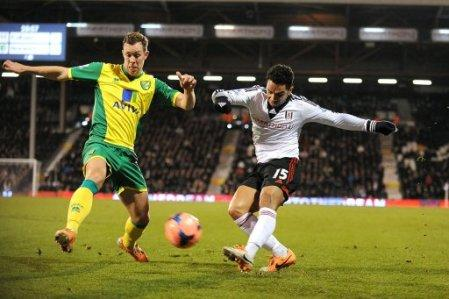 Soccer - FA Cup - Third Round - Replay - Fulham v Norwich City - Craven Cottage