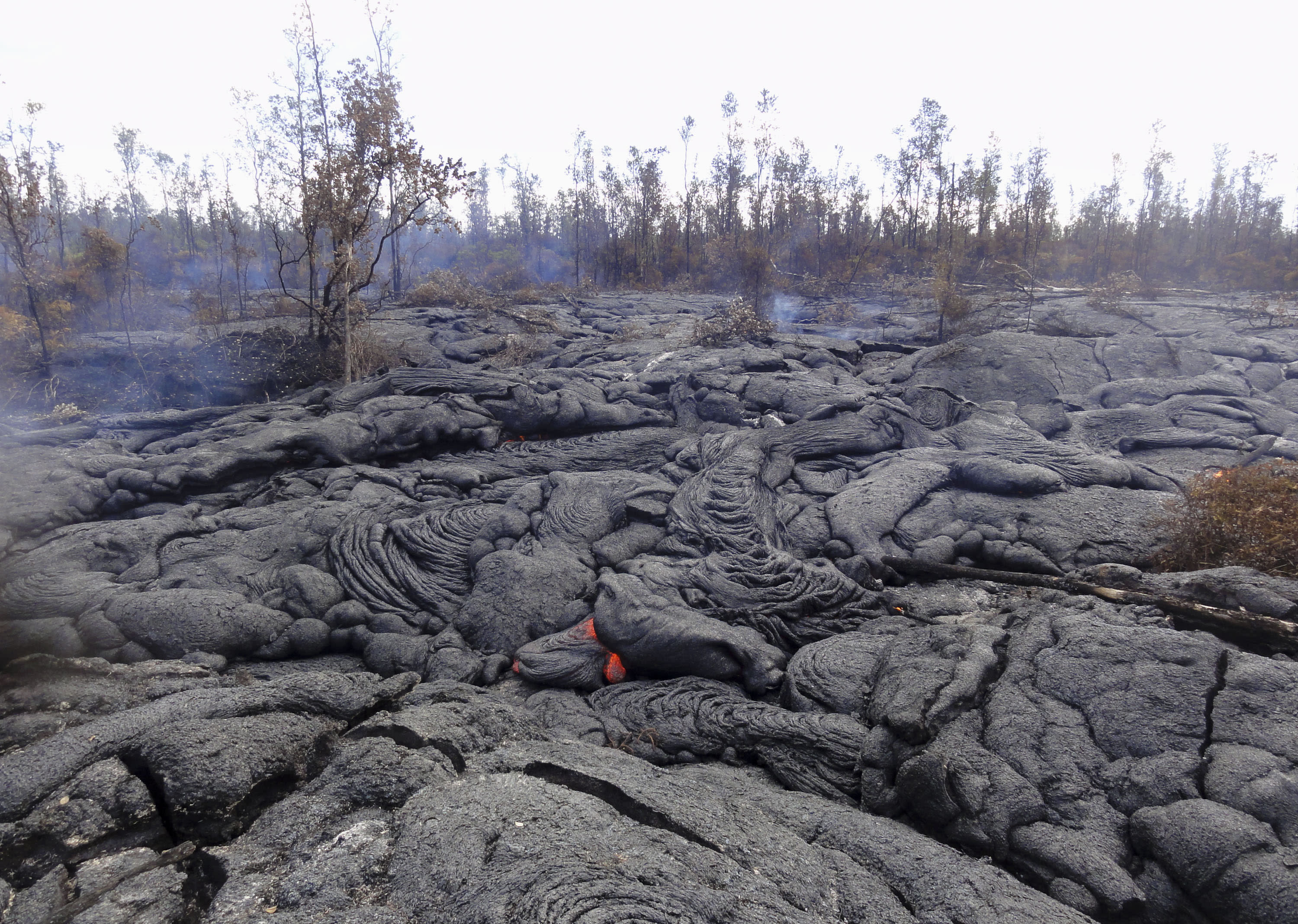 First major retailer to reopen after Hawaii lava scare