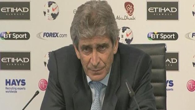 City meet Pellegrini's expectations
