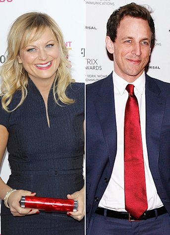 Amy Poehler Prank Calls Seth Meyers, Dodges Questions About Hosting the Oscars