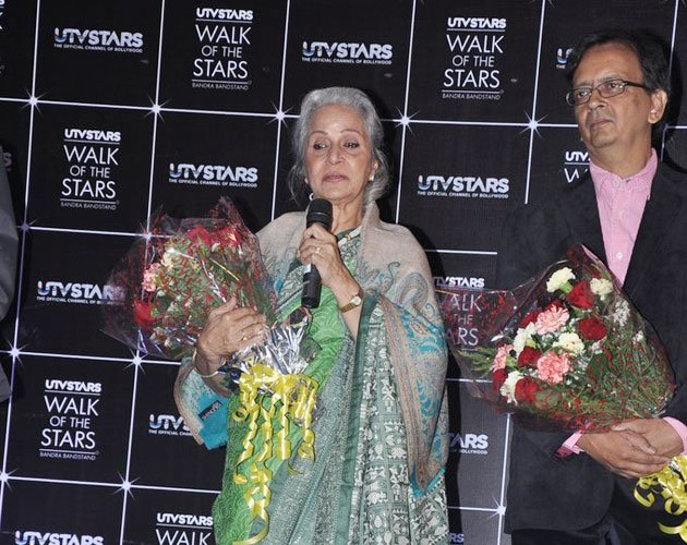 Waheeda breaks into tears