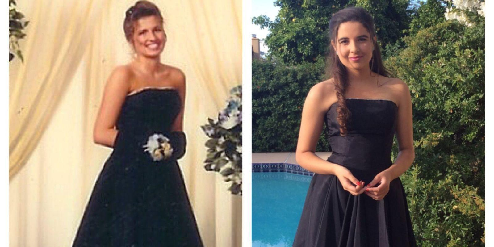 This Teen Wore Her Mother's Prom Dress to Her Senior Prom