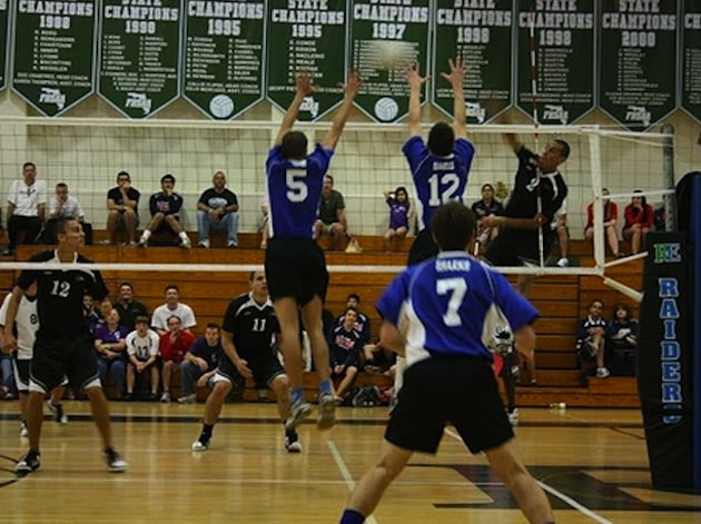 The Spanish River boys volleyball team in action — BeRecruited