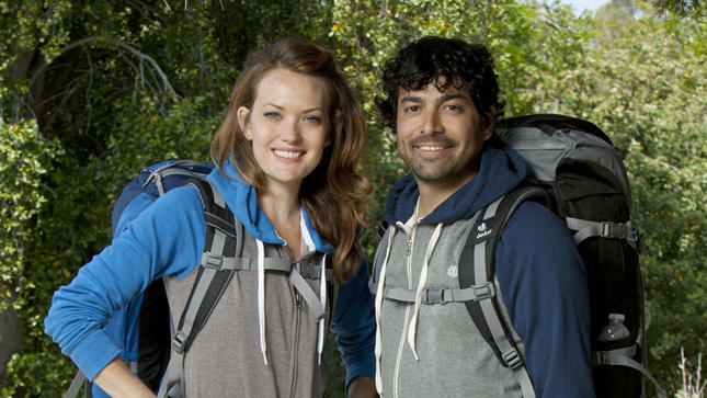 Amy Purdy and Daniel Gale