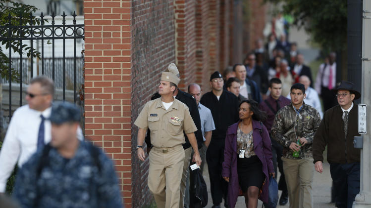 Washington Navy Yard opening 3 days after massacre