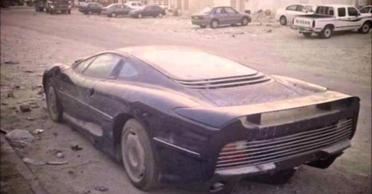 18 Abandoned And Forgotten Supercars In Dubai