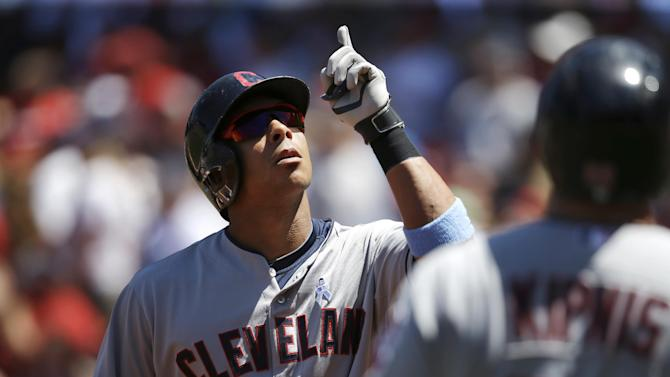 Brantley returns to Indians lineup