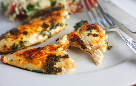 Cilantro Mint Chicken