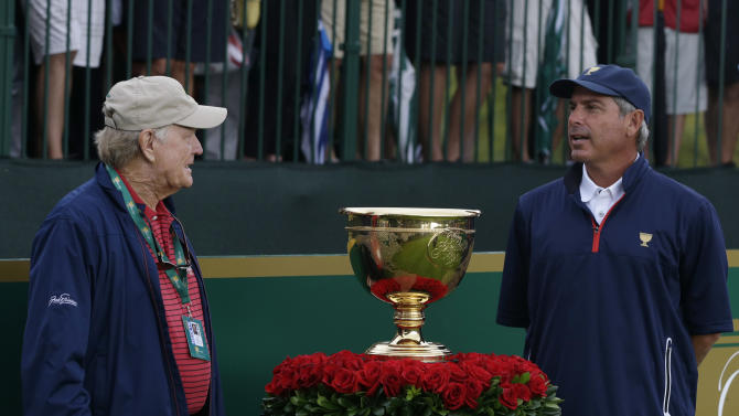 Presidents Cup is an exercise of PGA Tour control
