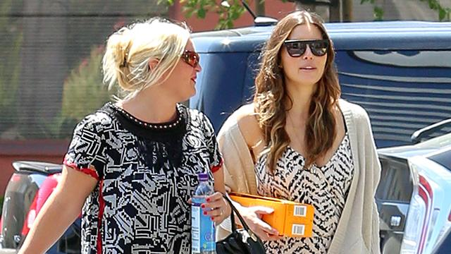 Jessica Biel Steps Out for First Time After Giving Birth