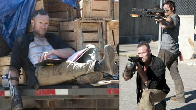 Michael Rooker as Merle Dixon (left), Norman Reedus as Daryl Dixon with Michael Rooker as Merle Dixon -- Gene Page/AMC