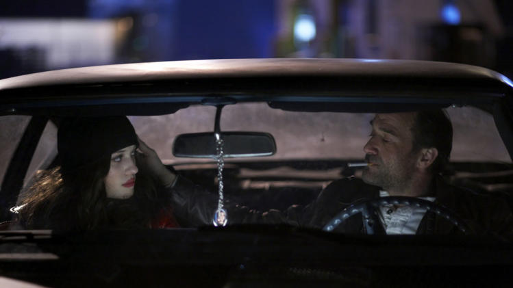 Kat Dennings Elias Koteas Defendor Production Stills Sony 2010