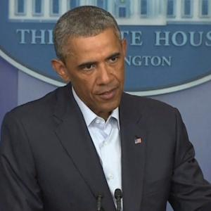OBAMA ADDRESSES SITUATION IN FERGUSON