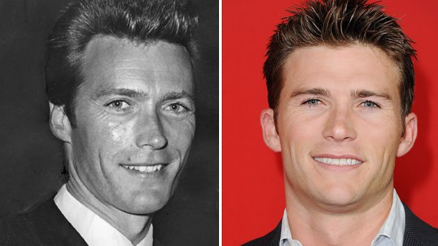 Scott Eastwood and Clint Eastwood