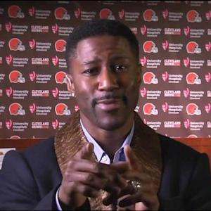 Nate Burleson on Cleveland Browns wide receiver Josh Gordon: He's a changed man