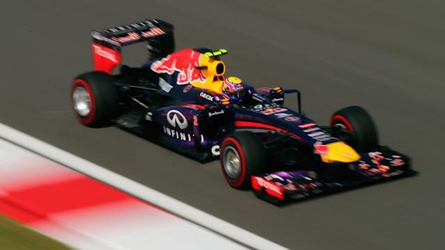 2013 GP of Korea Red Bull Webber