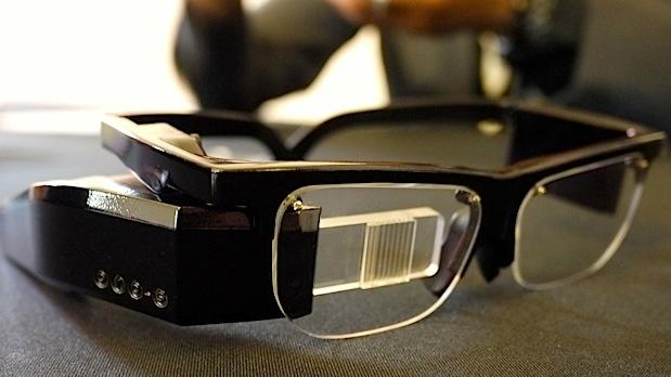 DNP Optinvent Ora AR glasses boasts 'true AR' and dual position display, dev edition to go for 700 Euros headon