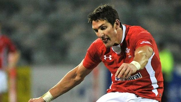 2012 RUGBY Wales James Hook