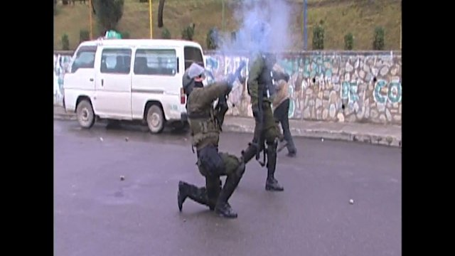 Bolivia Union Workers Clash With Police